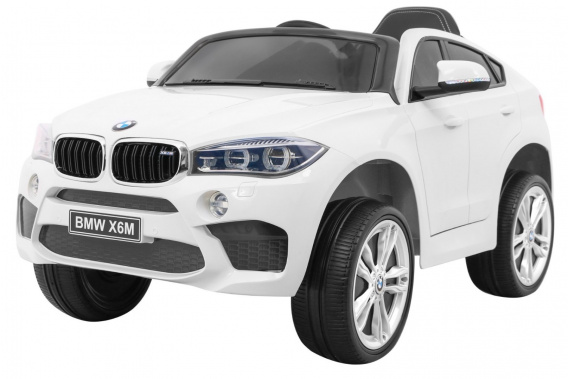 Vehicle BMW X6M White