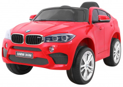 Vehicle BMW X6M Red
