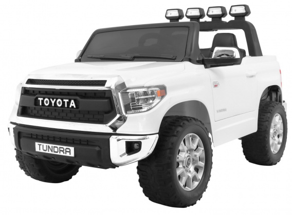 Vehicle Toyota Tundra White