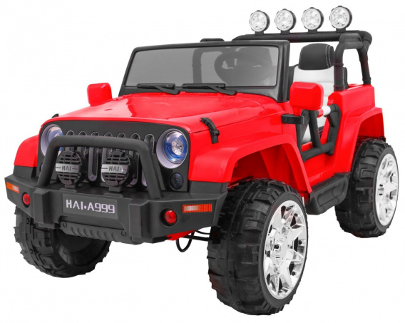 MASTER 4x4 Red