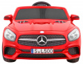 Mercedes SL 500 Painting Red