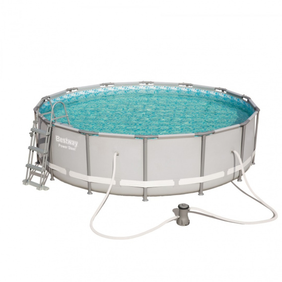Swimminig pool 14 FT Power Steel BESTWAY