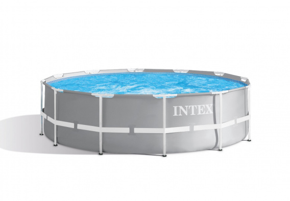 "Round frame pool - 12Ft x 39 ""/ 366 x 99 cm with pump"