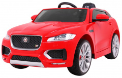 Vehicle Jaguar F-Pace Red