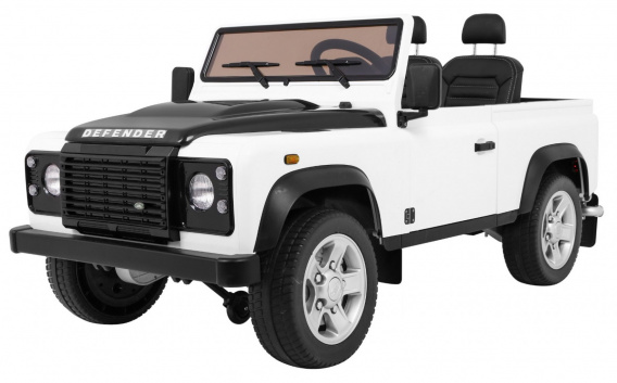 Vehicle Land Rover DEFENDER White