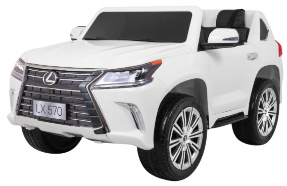 Vehicle Lexus LX570 White