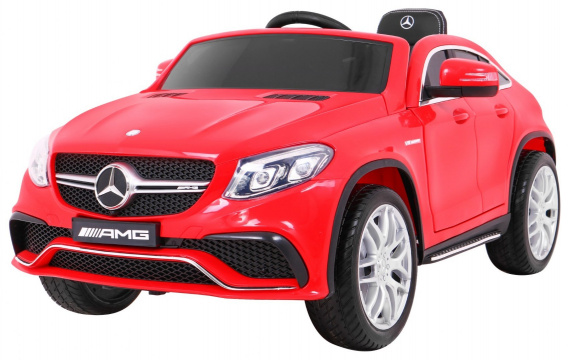 Mercedes Benz AMG GLE63 Red
