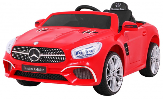 Mercedes SL400 red