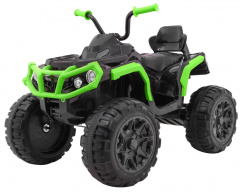 Vehicle Quad ATV 2.4 G BDM0906 black and green