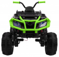 Vehicle Quad XL ATV, remote control 2.4 GHZ black and Green
