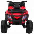 Vehicle Quad XL ATV, remote control 2.4 GHZ Red