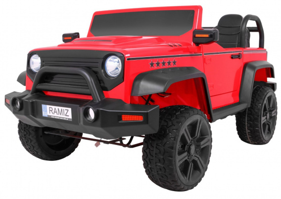 The STRONG vehicle 4 x 4 Red