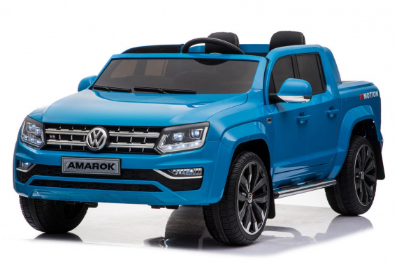 Vehicle Volkswagen AMAROK Pickup Truck Blue