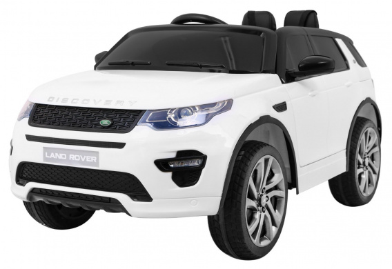 Vehicle Land Rover Discovery White