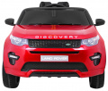 Vehicle Land Rover Discovery Painted Red