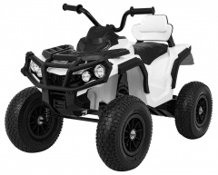 Quad ATV Air Wheel White