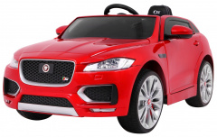 Vehicle Jaguar F-Pace Painted Red