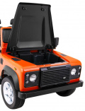 Land Rover DEFENDER Vehicle Orange