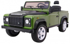Vehicle Land Rover DEFENDER Green