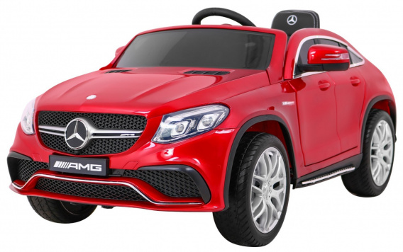 Mercedes Benz AMG GLE63 Painted Red