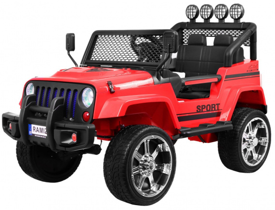 Vehicle NEW Raptor DRIFTER 4 x 4 Red