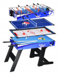 Folding table for games 4 in 1