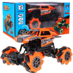 Autko Crawler Rock Through R/C 2,4 Ghz Niebieskie