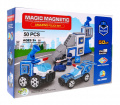 Magical Magnetic Bricks Police stations