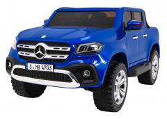 Mercedes Benz X-Class MP4 Painting Blue