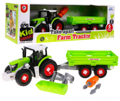 Multipartial tractor with Trailer