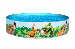 Basen Fill 'N Fun Pool Dinozaury BESTWAY