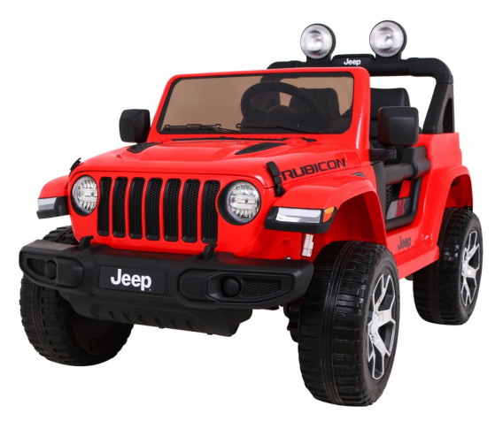 Jeep Wrangler Rubicon Red