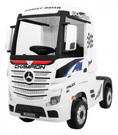 Mercedes Benz Actros White