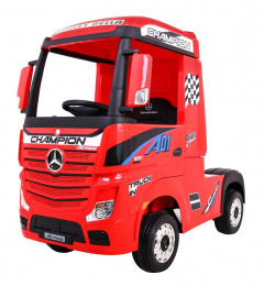 Mercedes Benz Actros Red