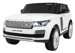 Vehicle Range Rover HSE White