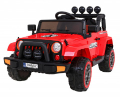 Full Time off-road vehicle 4WD Red