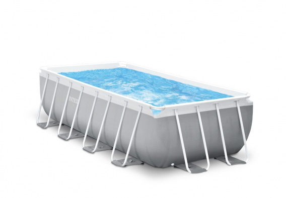 Prism Frame 16Ft / 488 x 244 x 107 cm Rack Pool with INTEX pump