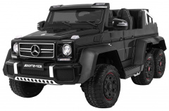 Vehicle Mercedes G63 6 x 6 Black