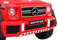 Vehicle Mercedes G63 6 x 6 Red
