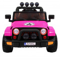 Full Time 4WD Pink Off-Road Vehicle