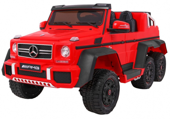 Mercedes G63 6x6 Red MP4