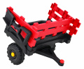 Tractor Titanium With Trailer Red